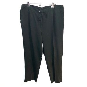 Alice Hope Black Cropped Joggers
